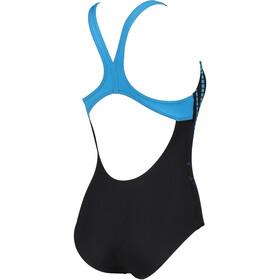 arena Shiner Swim Pro Back Costume Da Bagno Intero Donna, nero
